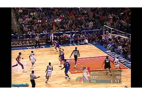 [Classic] NBA 2001 All Star Game Highlights Part 2 - YouTube
