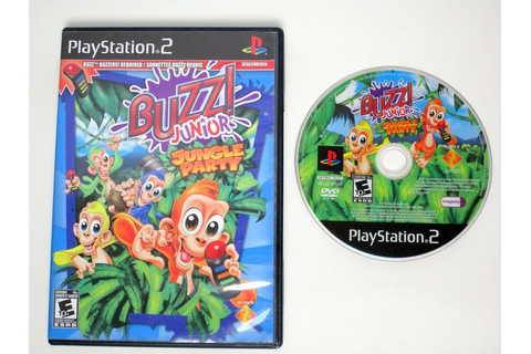 Buzz Junior Jungle Party game for Playstation 2 | The Game Guy