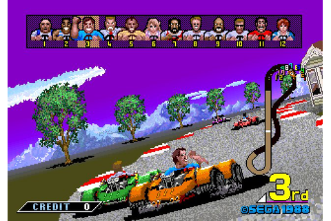 Power Drift (1988) by Sega Arcade game