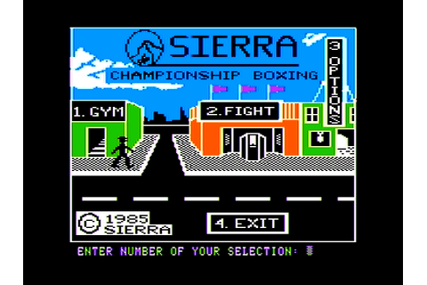 Download Sierra Championship Boxing - My Abandonware