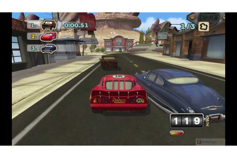 Cars Mater-National Championship PC Gameplay 720P - YouTube