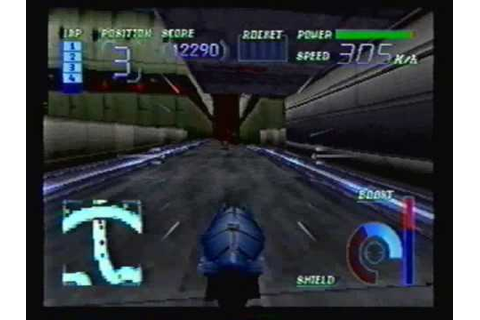 Sega Saturn's Cyber Speedway - Final Race - YouTube