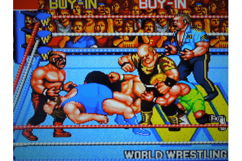 WWF WrestleFest Review (Arcade) | Obscure Video Games