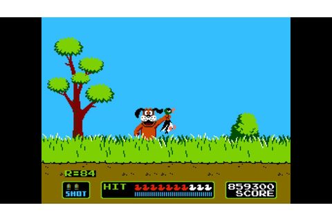NES Duck Hunt Game A 4655300pts - YouTube