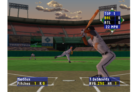 Play High Heat Baseball 2000 Sony PlayStation online ...