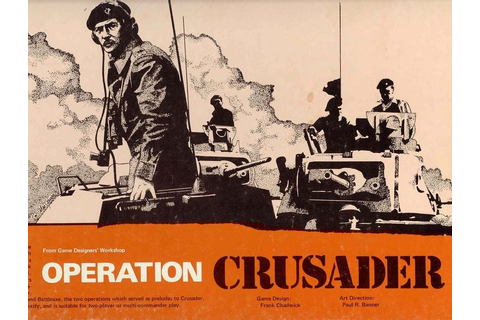 Operation Crusader | Board Game | BoardGameGeek