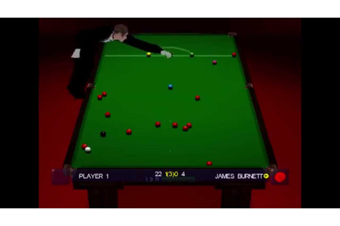World Championship Snooker (2000) [PlayStation] - YouTube