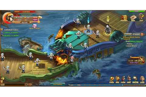 Online Browser Game Reviews: Pirate King - Online Browser ...