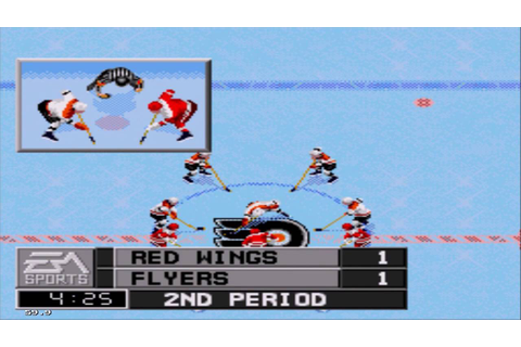 NHL 97 Sega Genesis Gameplay HD - YouTube