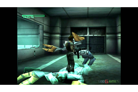 C-12 Final Resistance - Gameplay PSX (PS One) HD 720P ...