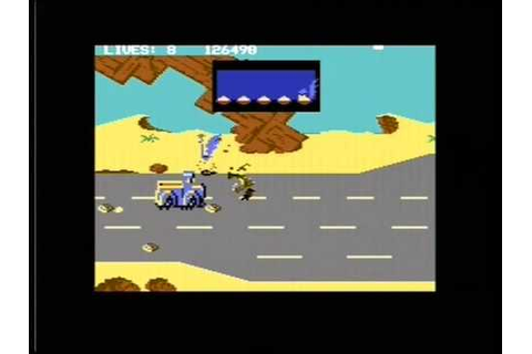 ROAD RUNNER (C64 - FULL GAME) - YouTube