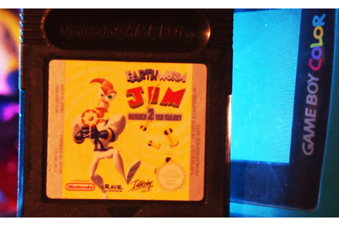 Earthworm Jim Menace 2 the Galaxy (Gameboy Color ...