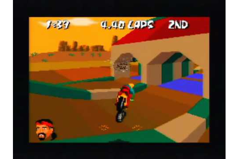 Dirt Trax FX Game Sample - SNES/SFC - YouTube