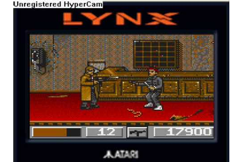 Atari Lynx Dirty Larry Renegade Cop from Subway Level to ...