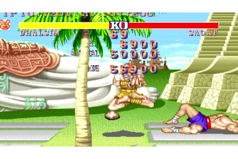 [ARCADE] Street Fighter II - The world Warrior Dhalsim ...