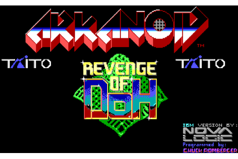 Arkanoid 2 - Revenge of DoH (Eigene Screenshots der PC Dos ...
