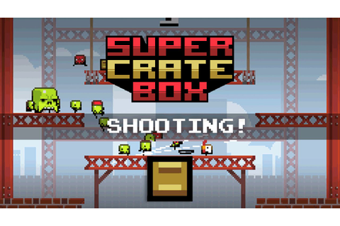 [Game Maker Tutorial] Super Crate Box! - 4: Shooting - YouTube