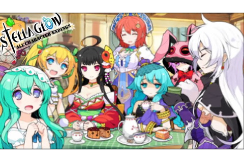 Stella Glow All Character Endings - YouTube