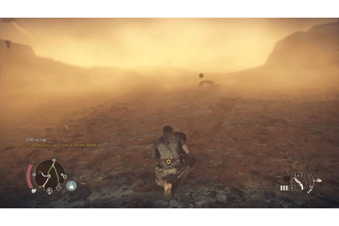 Surviving a Sand Storm - Mad Max PS4 - YouTube