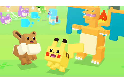 Pokemon Quest Heads To Nintendo Switch For Free As RPG ...