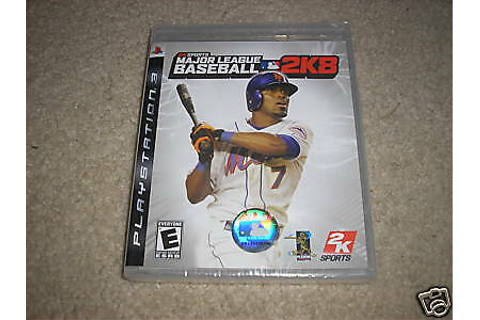 Major League Baseball 2K8 (PlayStation 3) PS3 GAME NEW | eBay