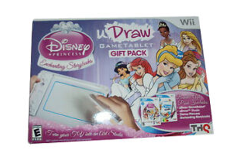 Wii uDraw Disney Princess Enchanting Storybooks Studio Art ...