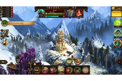 vikings war of clans Gameplay PC - YouTube