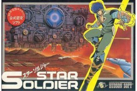 Star Soldier — StrategyWiki, the video game walkthrough ...