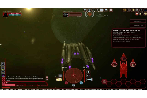 Battlestar Galactica Cylon Gamepaly (free online pc game ...