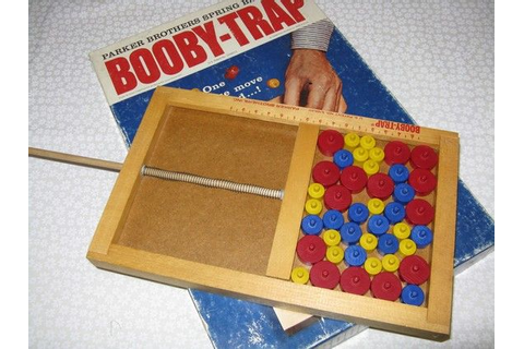1965 Parker Brothers Booby Trap Game | Toys, The o'jays ...