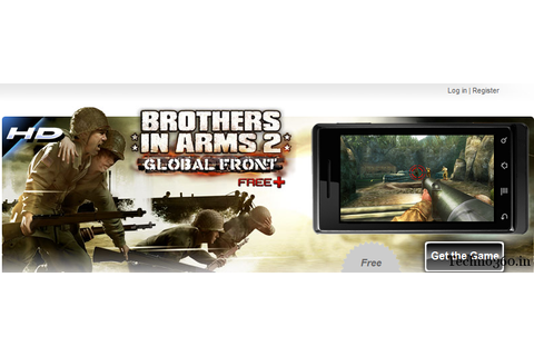 Brothers In Arms 2 Global Front Android Game Free