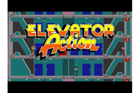 Elevator Action Old & New (GBA) - YouTube