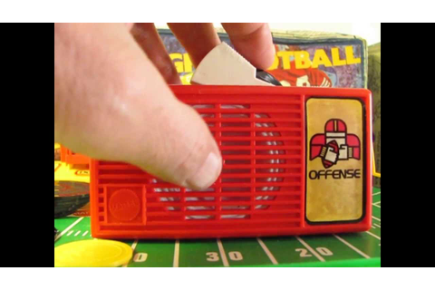 ABC Monday Night Football Talking Board Game by Mattel ...