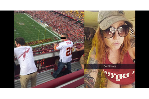 Social Media Found Woman Giving BJ At Redskins Game (PICS ...