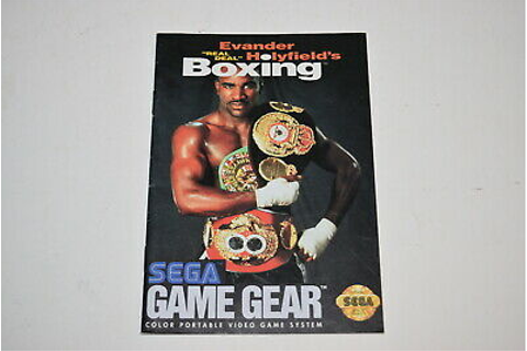 Evander Holyfield's Real Deal Boxing Sega Game Gear Video ...