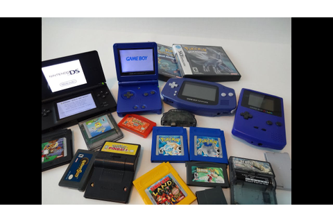 I check out my Gameboy's and game's :D -Tech -Video games ...