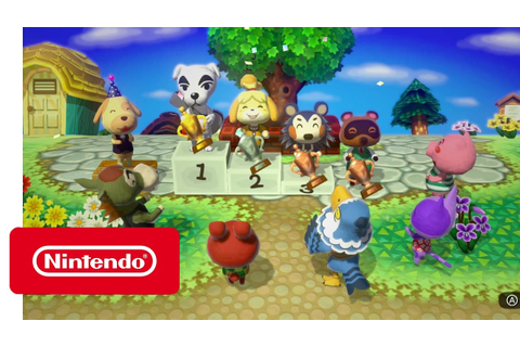 Animal Crossing: amiibo Festival 2 - Official Game Trailer ...