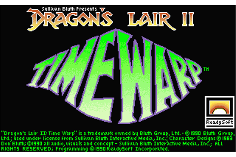 Download Dragon's Lair II: Time Warp - My Abandonware