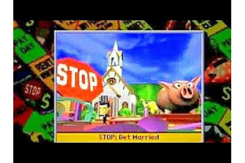Let's play The Game of Life for PlayStation one full game ...