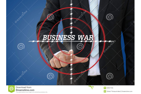 Business War Games Of Competition Concept Stock Image ...