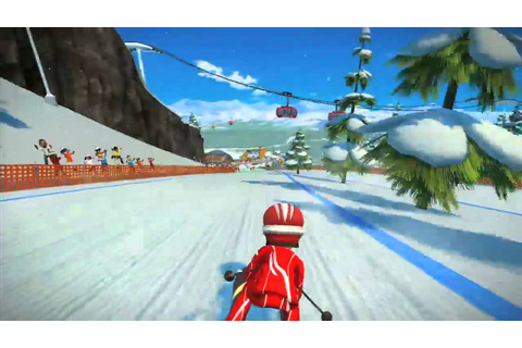 Kinect Sports Season Two - Skiing Gameplay Trailer - TGS ...