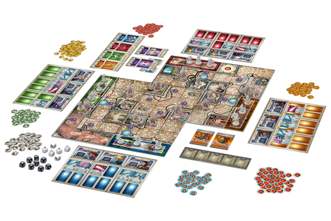 Arcadia Quest game box