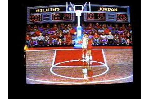 NBA All-Star Challenge SNES - Game Review - Paladino Live ...