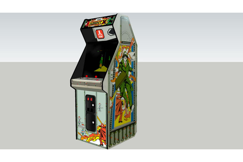 Agent X arcade game | 3D Warehouse