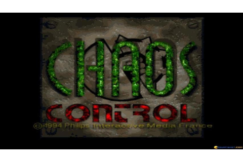 Chaos Control gameplay (PC Game, 1995) - YouTube