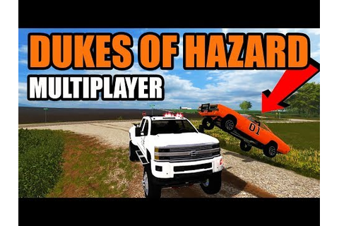 NEW DUKES OF HAZARD GAME (FS17) | RUNNING FROM THE COPS ...