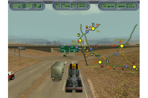 Hard Truck 18 Wheels Of Steel PC Game Download Full ...