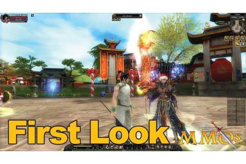 Silkroad Online Gameplay First Look - MMOs.com - YouTube