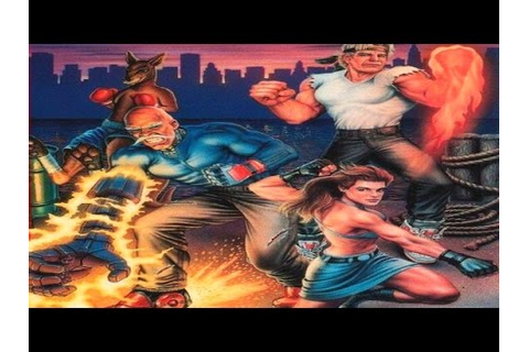 Streets of Rage 3 Game Review - YouTube