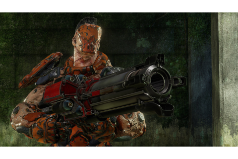 Quake Champions To Get Bots and Enhanced Gore System